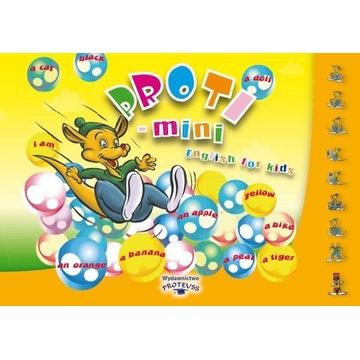 Książki do nauki j.ang dla dzieci 3-4 l PROTI MINI