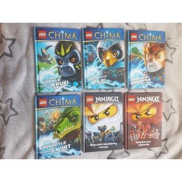 Lego Ninjago Lego Chima książki dla dzieci