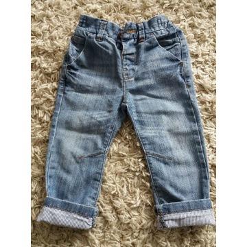 NEXT spodenki jeansowe, rozm. 80