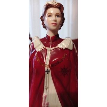 Royal Worcester figurka Queen Elizabeth ll 23cm