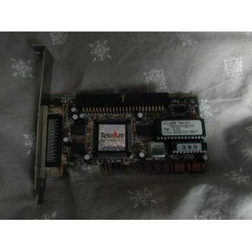 TEKRAM DC-390/TU SCSI 50-PIN 68-PIN KONTROLER PCI