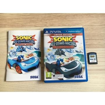 Sonic All Stars Racing Transformed PS Vita