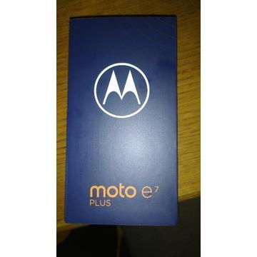 Motorola Moto e7 plus Misty blue..NOWY