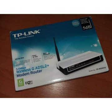 TP-Link router ADSL Wi-Fi 54Mb/s TD-W8901G