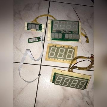 Wyświetlacze LED (różne typy)