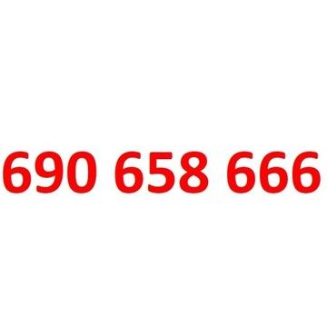 690 658 666 starter orange złoty numer 66666