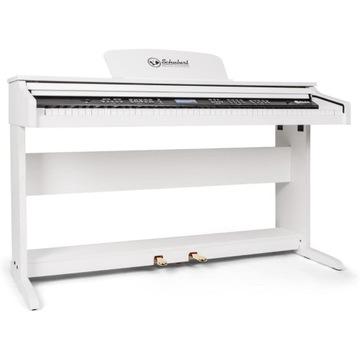 Elektryczne Pianino Keyboard Biały