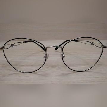 Okulary damskie (szkła 0)