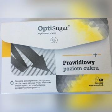 Opti Sugar 40kaps NaturDay prawidłowy poziom cukru