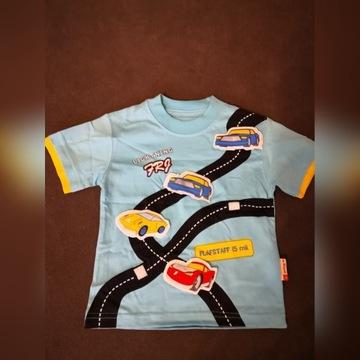 T-shirt bawełniany od Free FRJ rozmiar 92
