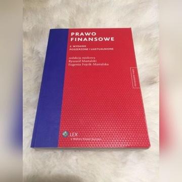 PRAWO FINANSOWE - RYSZARD MASTALSKI (red.) 2013