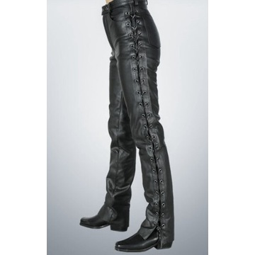 TARBOR spodnie motocyklowe skórzane (52 L)
