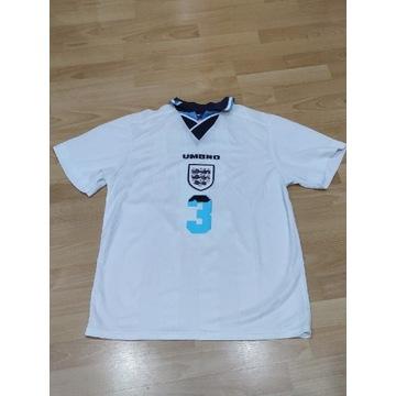 Anglia Umbro retro koszulka 1995/96 PEARCE unikat