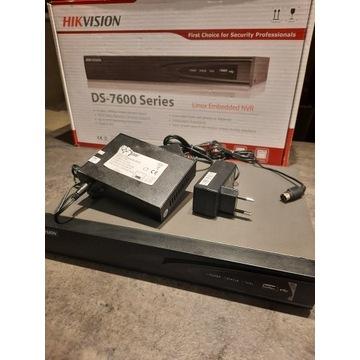 Zestaw Hikvision: rejestrator obrazu z kamerami