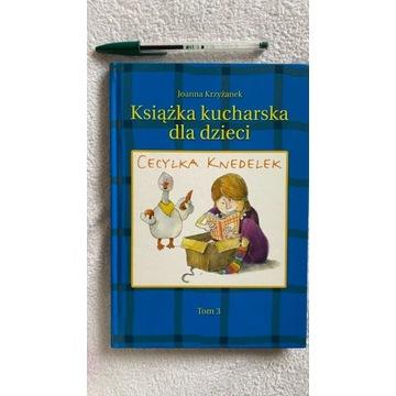 Książka kucharska dla dzieci - Joanna Krzyżanek t3