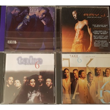 4 CD SOUL  Take 6, Ray J , Take6