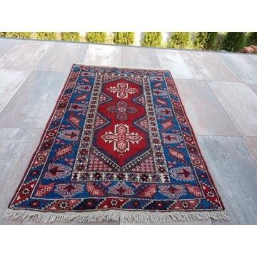 Piękny wełniany ręcznie tkany Irański dywan