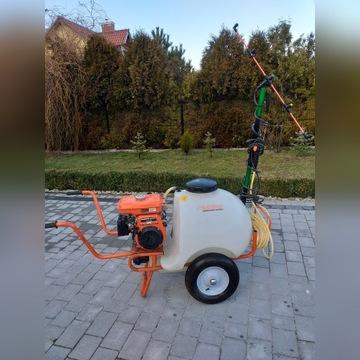 Triunfo Opryskiwacz sadowniczy SK 120 Kubota GH1