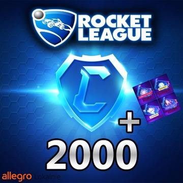 ROCKET LEAGUE 2000 KREDYTY/CREDITS 2K [PC]