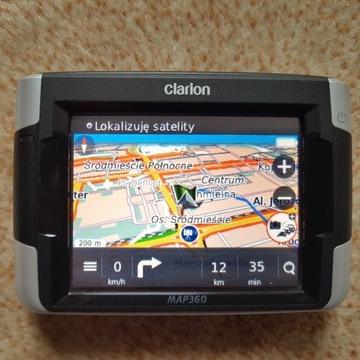 Nawigacja samochodowa Clarion MAP360