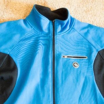 Ciepła bluza -  kurtka na rower rozmiar XL - 2XL