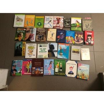 Książki dla młodszych i starszych dzieci
