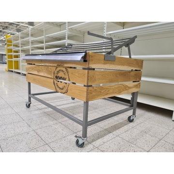 Wózek do ekspozycji warzyw