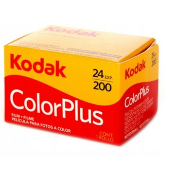 Kodak Color Plus, 24 kl. 200 ASA, colorplus 24/200
