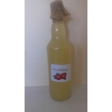 Naturalny ocet jabłkowy, żywy, od rolnika 500 ml