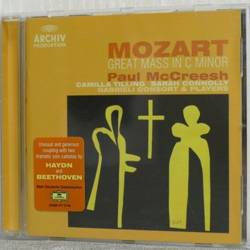 MOZART Great Mass in C Minor Paul McCreesh