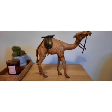Wielbłąd z Afryki PIĘKNY , figurka - real foto