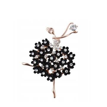 Broszka Baletnica