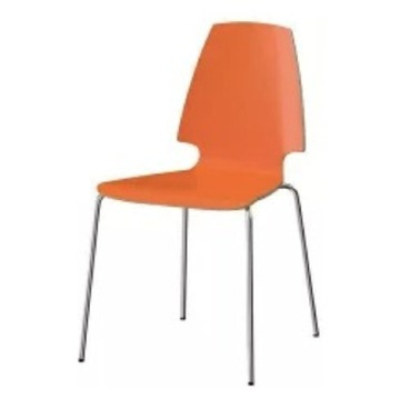 Krzesło Vilmar pomarańczowe Ikea