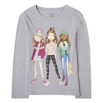 Childrens Place bluzeczka Girls Friends 5-6lat