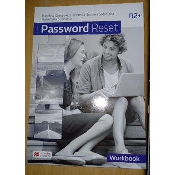 Password Reset B2+ workbook ćwiczenia nowe czyste