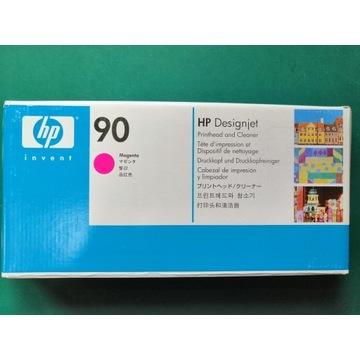 HP 90 Głowica + Czyścik, Magenta, C5056A