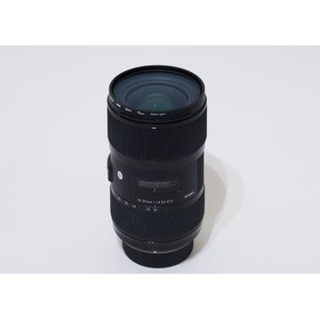 Sigma Art 18-35mm f1.8 Nikon DC HSM