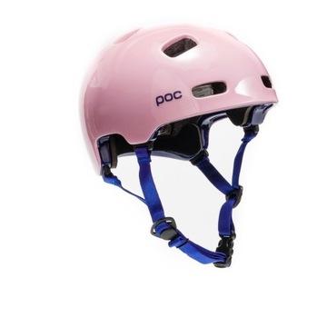 Kask rowerowy POC damski, różowy 55-58 cm