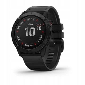 Garmin Fenix 6X Pro Czarny GPS