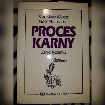 Proces karny, St. Waltoś, P. Hofmański