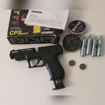 Wiatrówka pistolet Umarex Cp Sport 4.5 mm używany