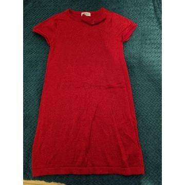 Sukienka H&M + bluzka Zara 134/140 jak nowe