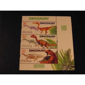 Dinozaury 1/2 arkusika Fi 5109-5111**