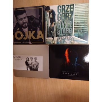 Zestaw 4 CD Sójka, Buslav, Hyzy, Kombii