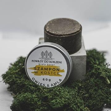 Naturalny szampon w kostce