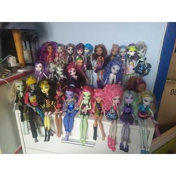 Ogromny zestaw lalek Monster High , okazja bcm!!!
