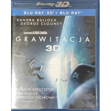 Grawitacja, Blu-ray, 2D