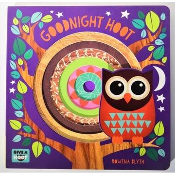 Goodnight Hoot Rowena Blyth książka angielski