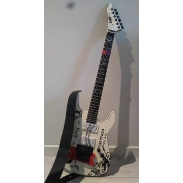 ESP Ouija replika gitary + pasek + futerał CANTO