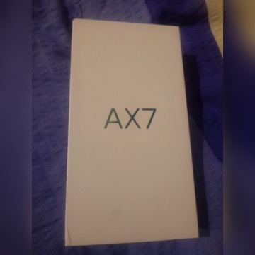 Oppo AX7 4GB / 64GB Glaze Blue NOWY DualSIM